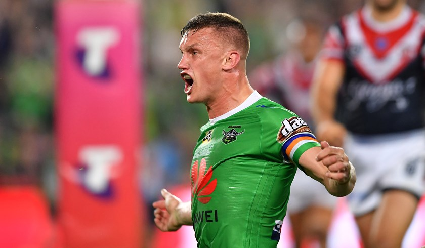 Jack Wighton Scores in the 2019 Grand Final