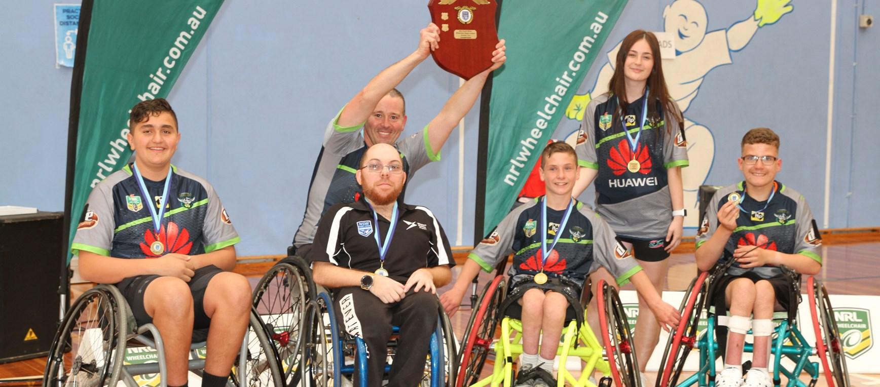 Raiders win Wheelchair Rugby League Plate Final