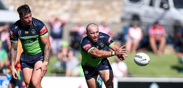 Trial Match Gallery: Raiders v Roosters