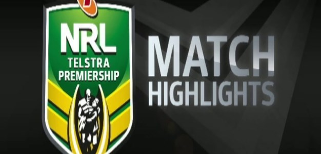 Knights v Raiders Rd4 (Highlights)