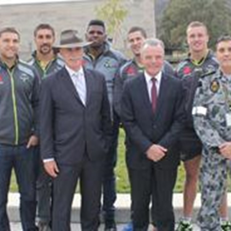 Raiders help launch Indigenous 'Champion' Project