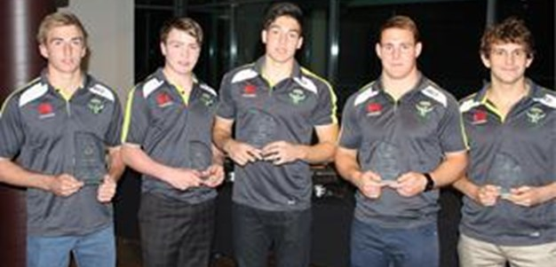 Raiders Junior Presentation night