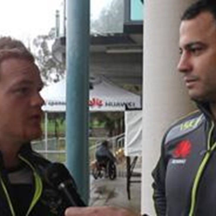 David Shillington & Joel Edwards talk about the match against the Eels
