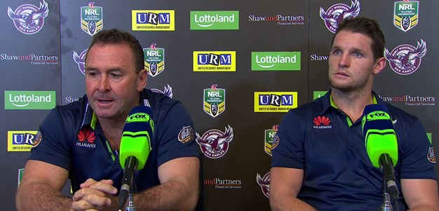 Press Conference: Raiders v Manly
