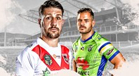 Dragons v Raiders - Round 11