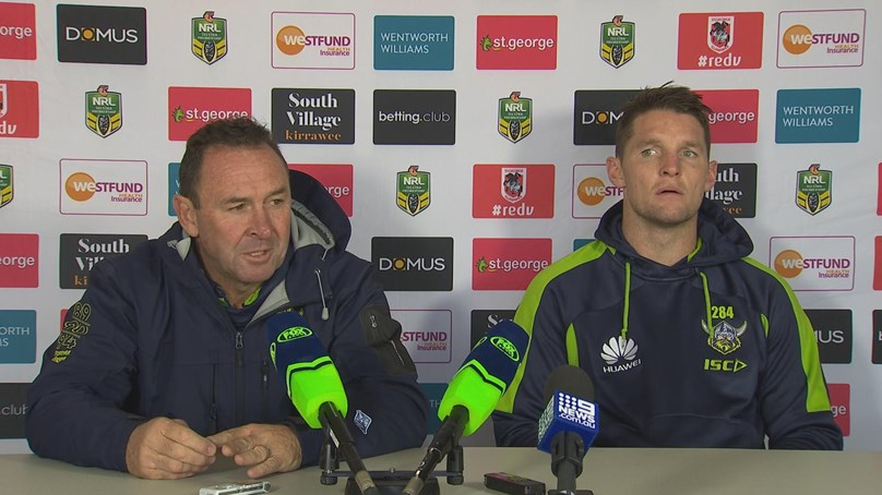 Rd 11 Press Conference: Raiders v Dragons