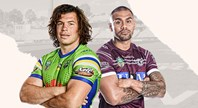 Raiders v Sea Eagles - Round 12