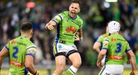 Match Highlights: Raiders win thriller against Manly