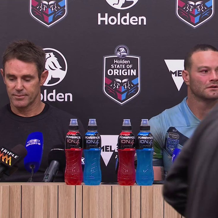 Origin: NSW Press Conference