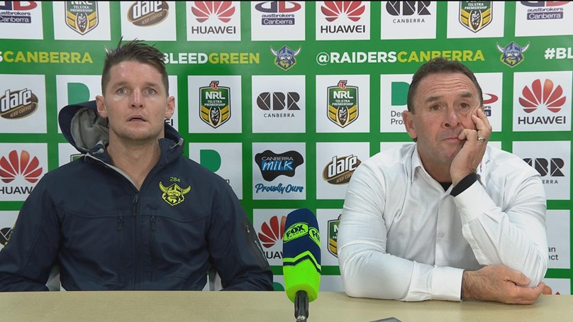 Raiders press conference - Round 14