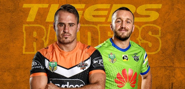 Raiders v Wests Tigers - Round 15 Preview