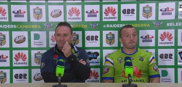 Raiders Post Match Press Conference