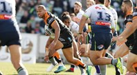 Match Highlights: Raiders v Tigers