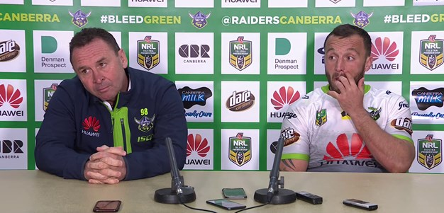 Press Conference: Raiders v Tigers