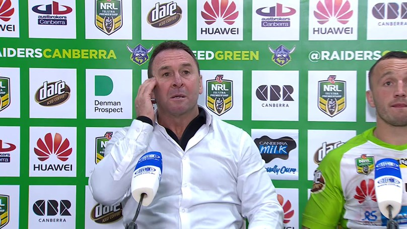Round 23 Press Conference: Raiders v Roosters