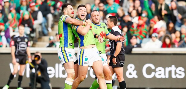 Match Highlights: Raiders turn it on against Rabbitohs