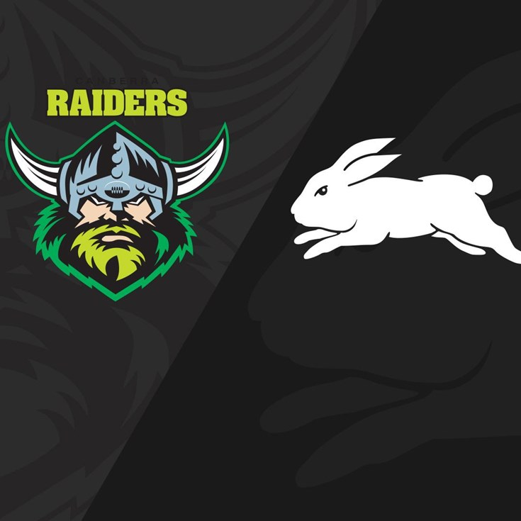 Full Match Replay: Raiders v Rabbitohs - Round 24