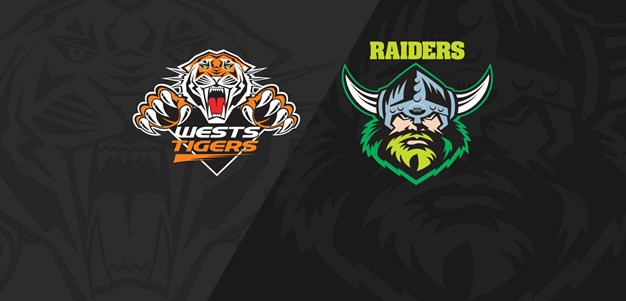 Classic Match: Raiders v Tigers 2018