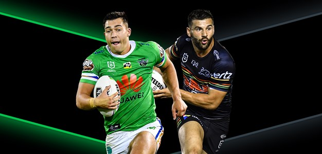 Raiders v Panthers - Round 8