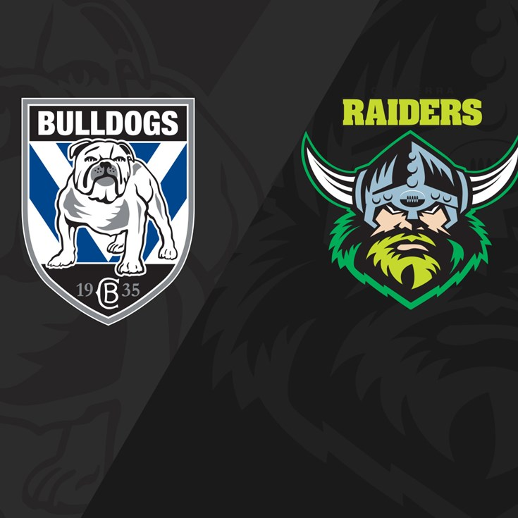 Classic Match: Raiders v Bulldogs 2019