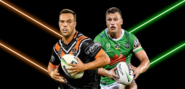 Wests Tigers v Raiders - Round 13