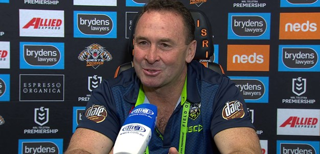 Press Conference: R13 v Wests Tigers