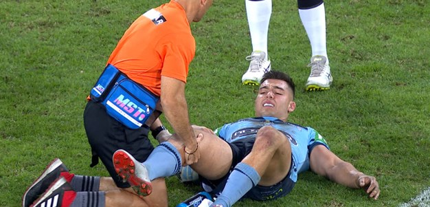 Cotric plays down concerns over injured knee