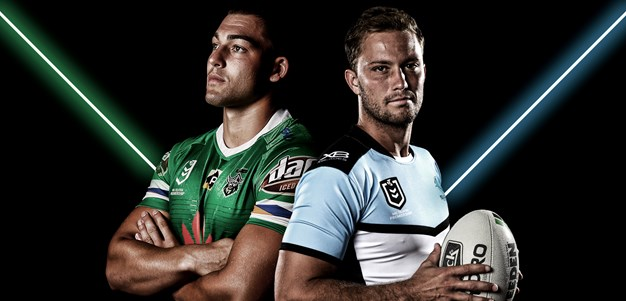 Raiders v Sharks - Round 14