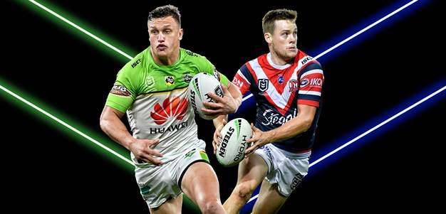 Raiders v Roosters -  Round 21