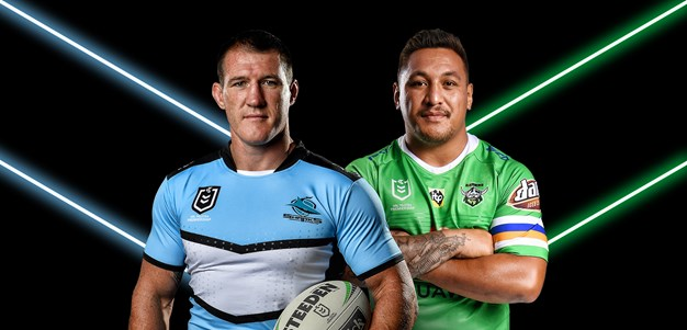 Sharks v Raiders - Round 24