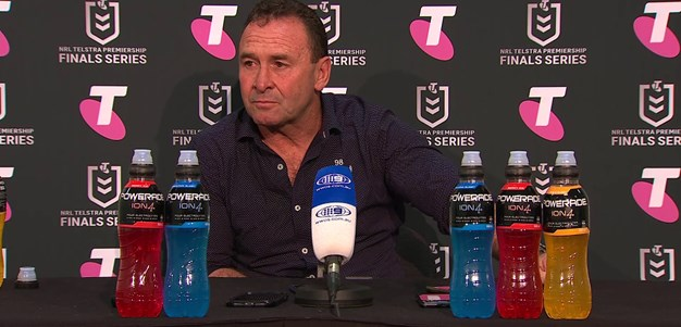 Post match press conference: Stuart speaks after Storm win
