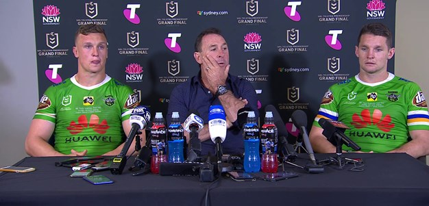 Raiders Press Conference : Grand Final
