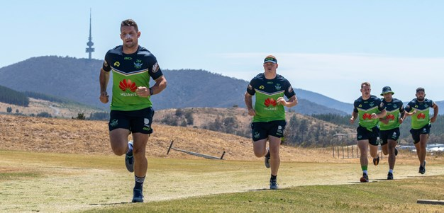 NRL squad sweat it out at Mt Stromlo