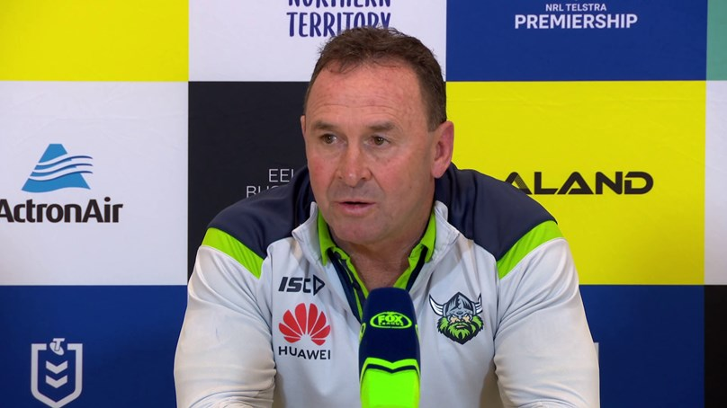 Press Conference: Raiders v Eels