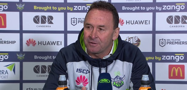 Press Conference: Raiders v Dragons