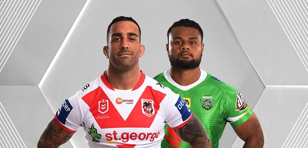 Dragons v Raiders - Round 18