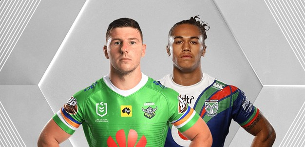 Raiders v Warriors - Round 19