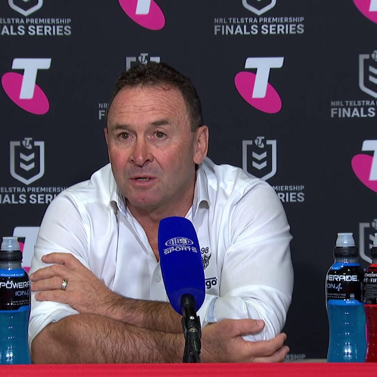 Press Conference: Raiders v Sharks