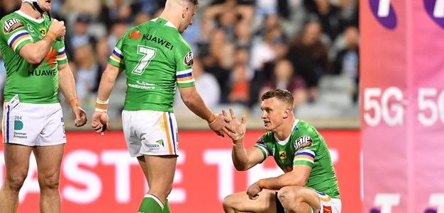 Raiders halves primed for Roosters clash