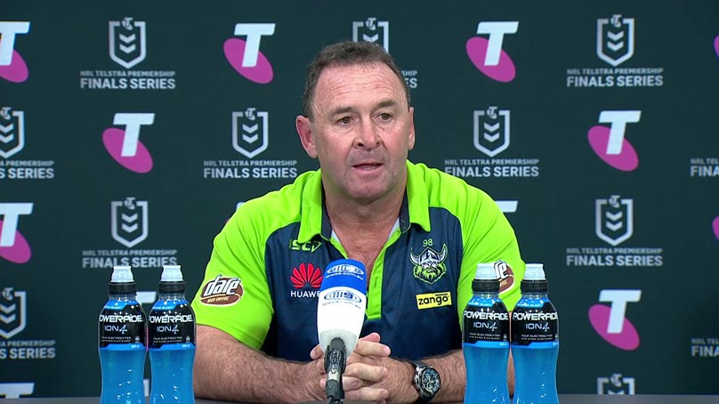 Press Conference: Raiders v Storm