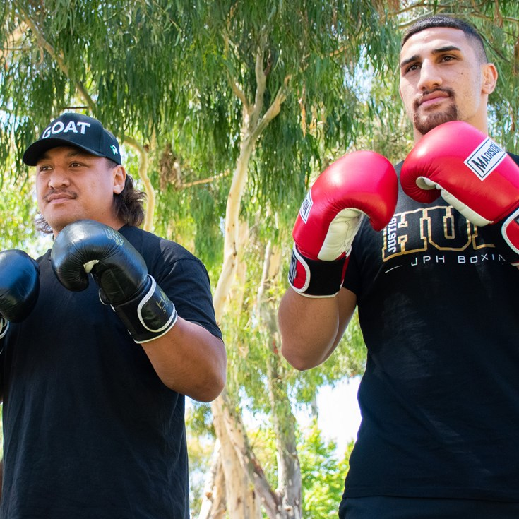 Papalii and Huni look ahead to Townsville fight night