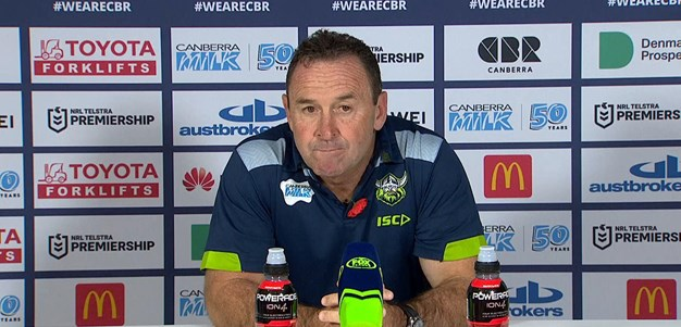 Press Conference: Raiders v Cowboys