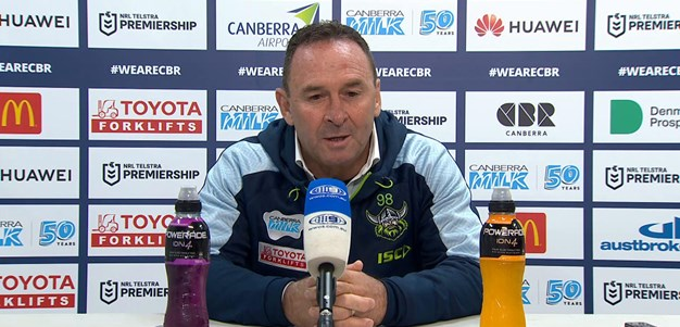 Press Conference: Raiders v Rabbitohs