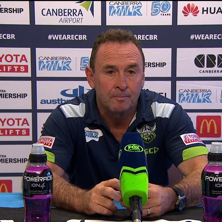 Press Conference: Raiders v Knights