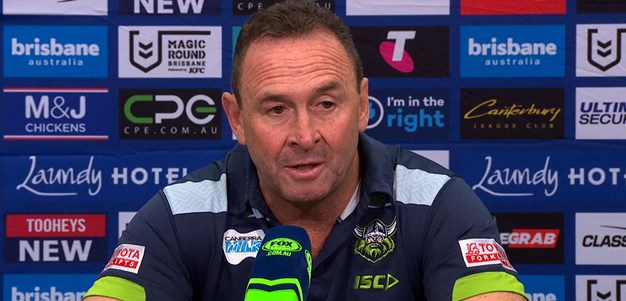 Press Conference: Raiders v Bulldogs