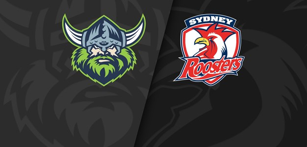 NRL Trials: Raiders v Roosters