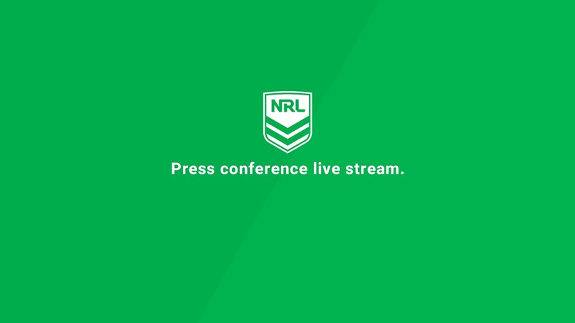 Press Conference: Raiders v Sharks - Round 14, 2019