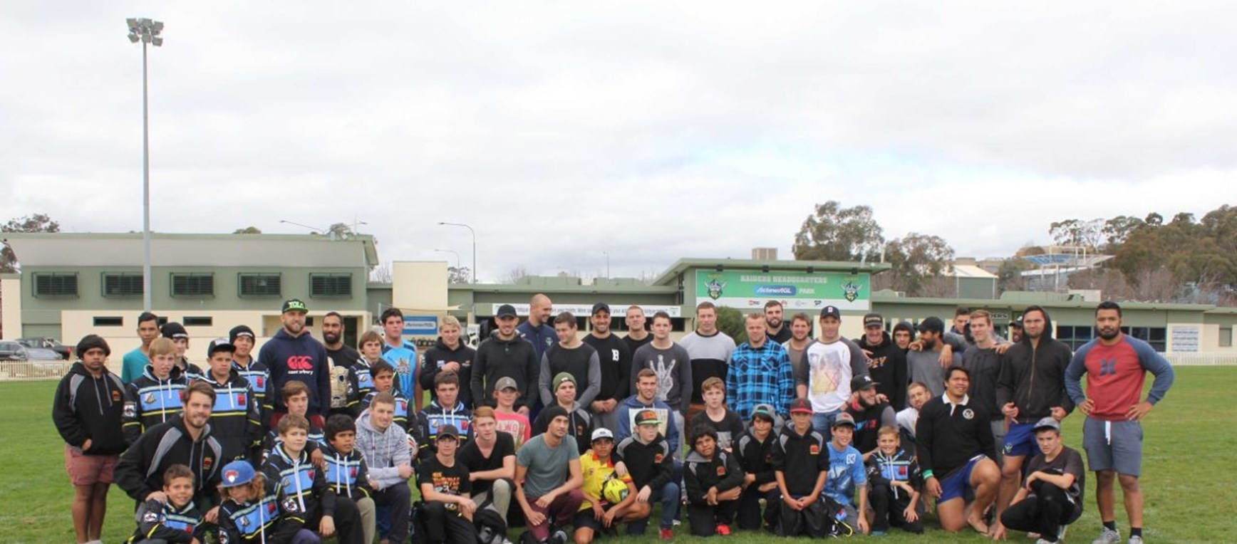 Clontarf Foundation Visits Raiders HQ