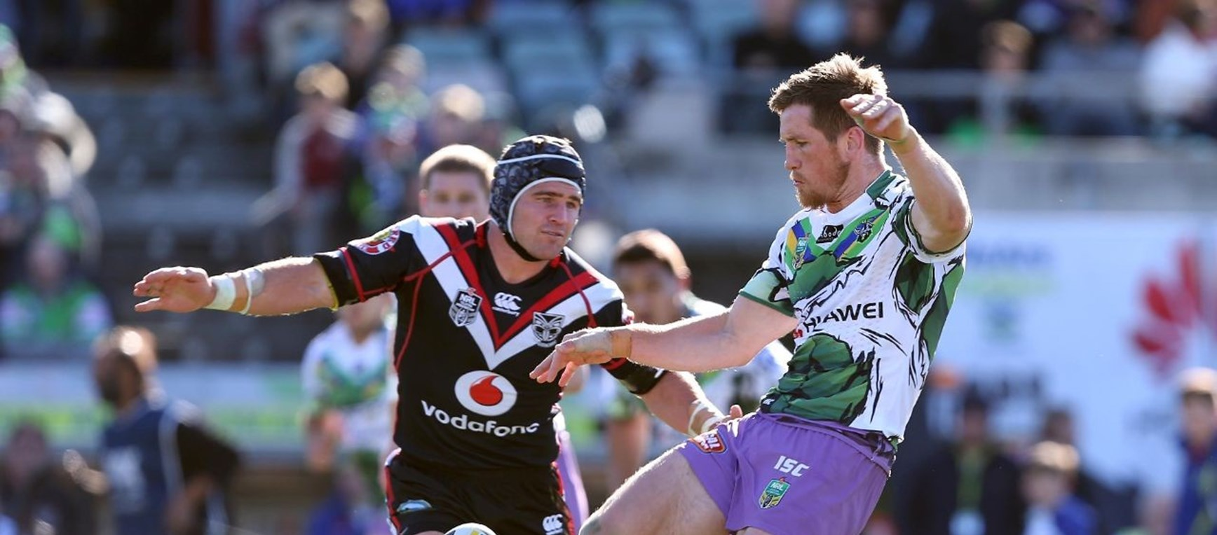 Photo Gallery: Raiders v Warriors