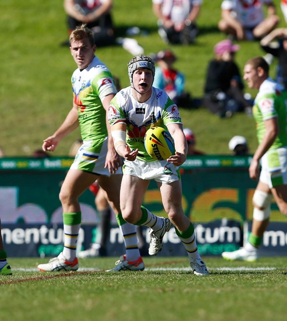 Digital Image by Robb Cox ©nrlphotos.com: :NSW Cup Rugby League - St George Illawarra Dragons V Canberra Raiders at WIN Stadium, Sunday May 17th 2015.